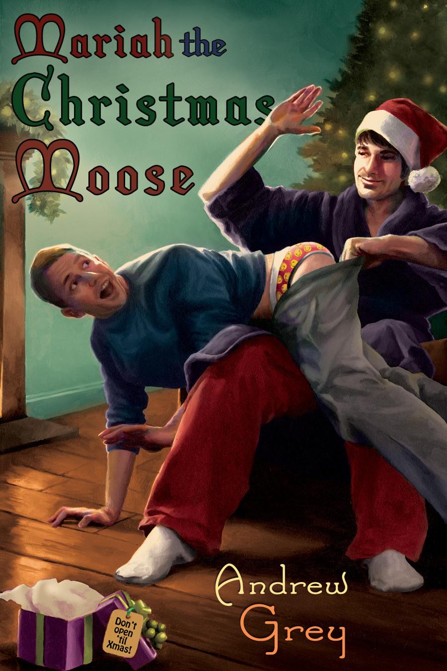 Mariah the Christmas Moose