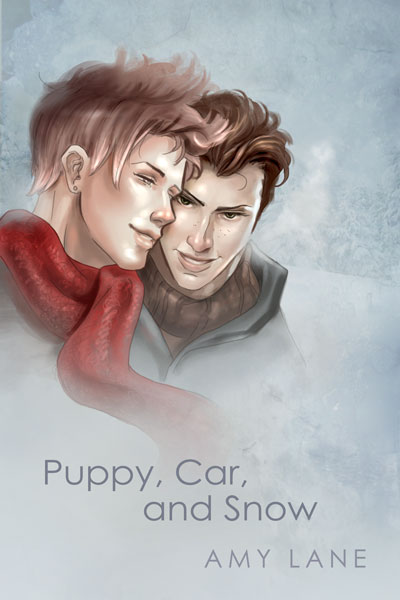 Puppy, Car, and Snow
