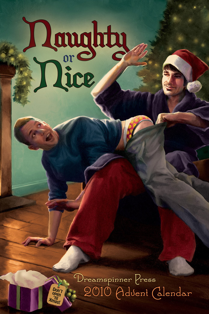 2010 Advent Calendar Full Set - Naughty or Nice