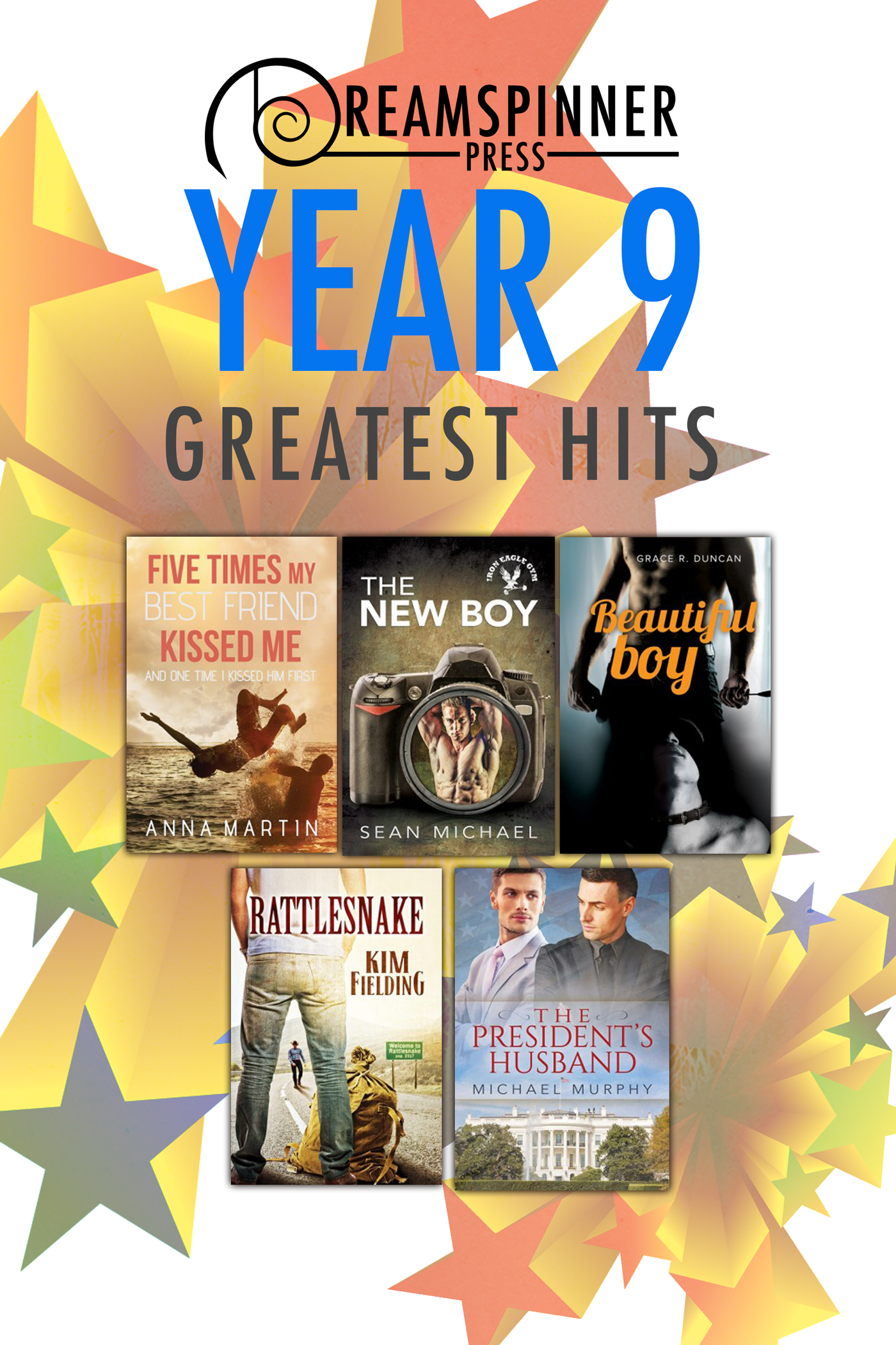 Dreamspinner Press Year Nine Greatest Hits