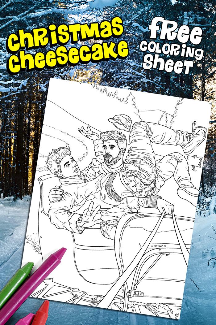 Sleigh Ride Coloring Book
