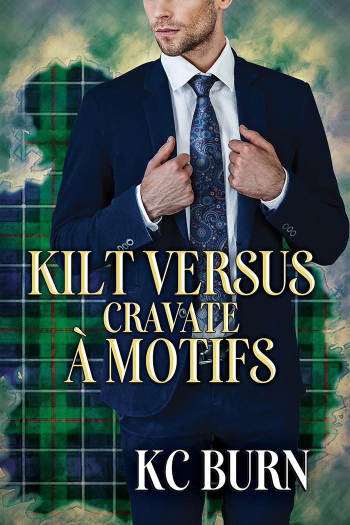 Kilt versus cravate à motifs