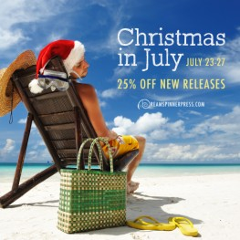 Christmas in July 25% off New Releases July 23-27, 2016