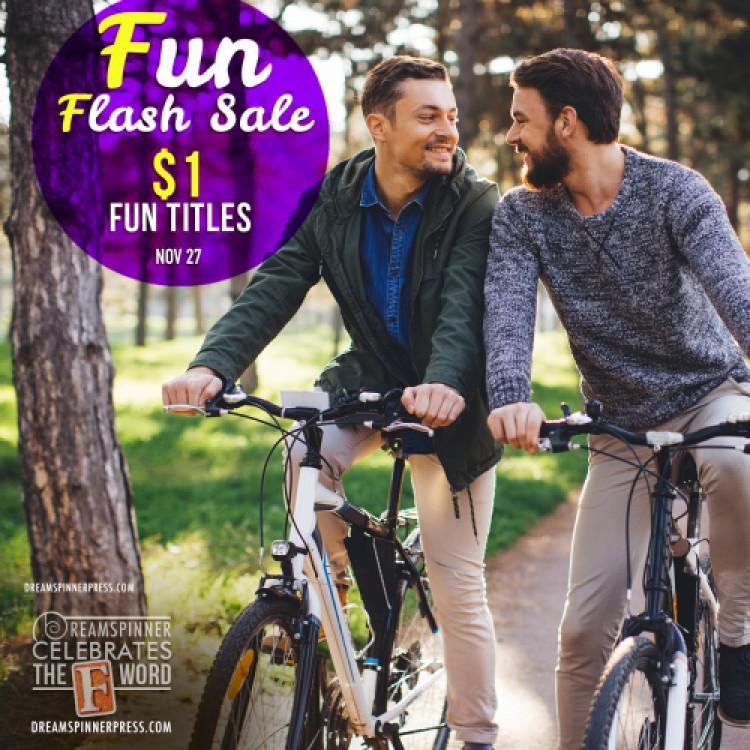 Fun Flash Sale: $1 eBooks