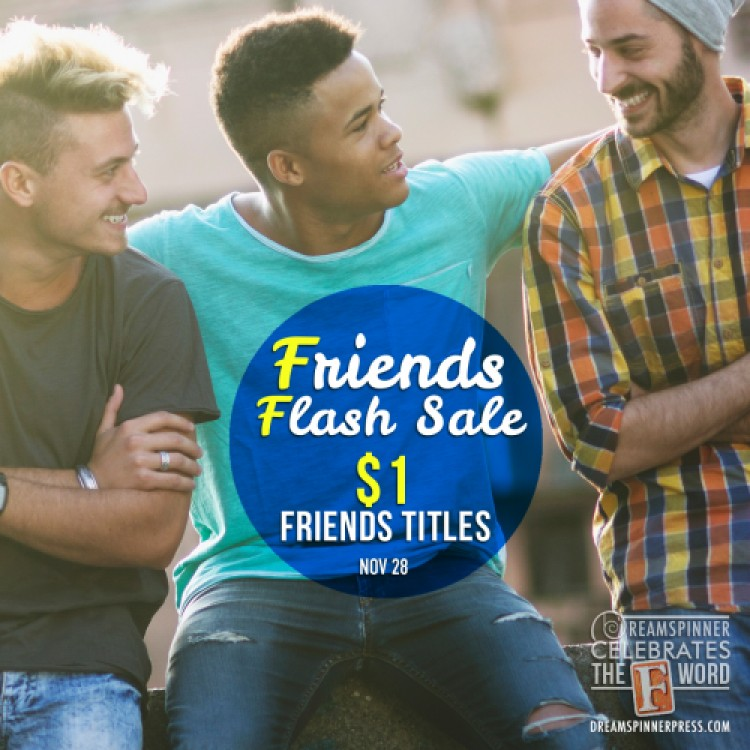 Friends Flash Sale: $1 eBooks