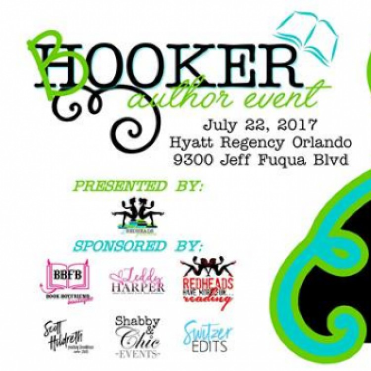 Booker Author Event