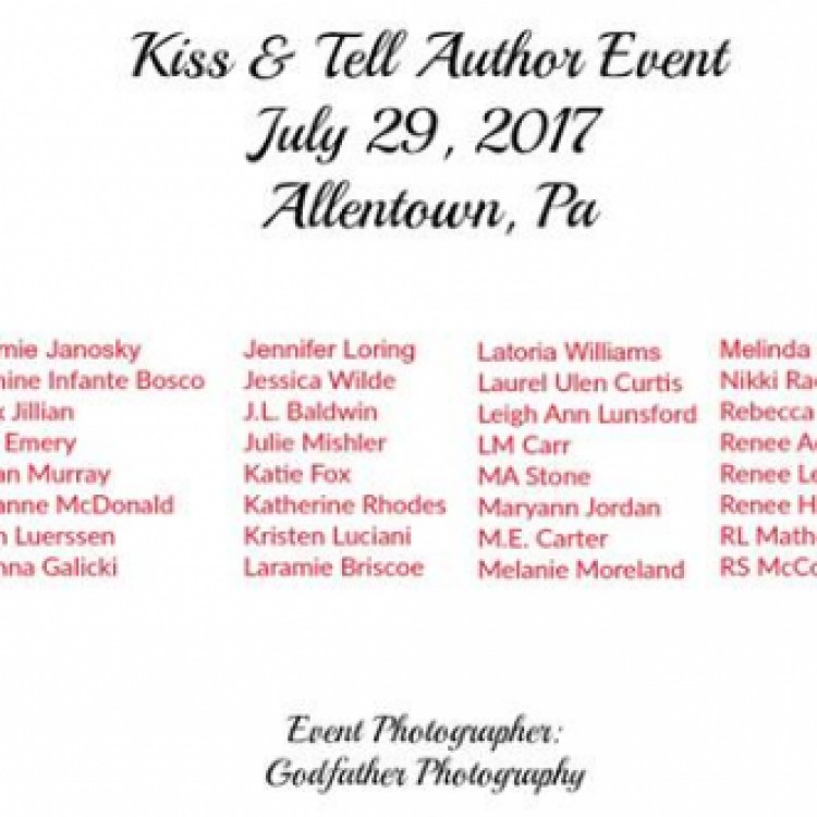 Kiss & Tell Author Event