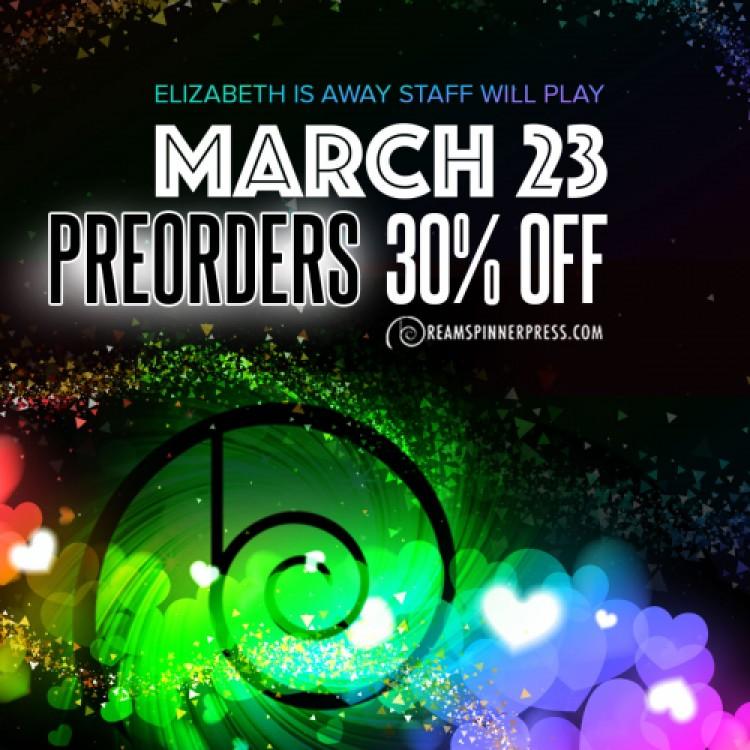 Elizabeth Is Away: Pre-Orders 30% Off