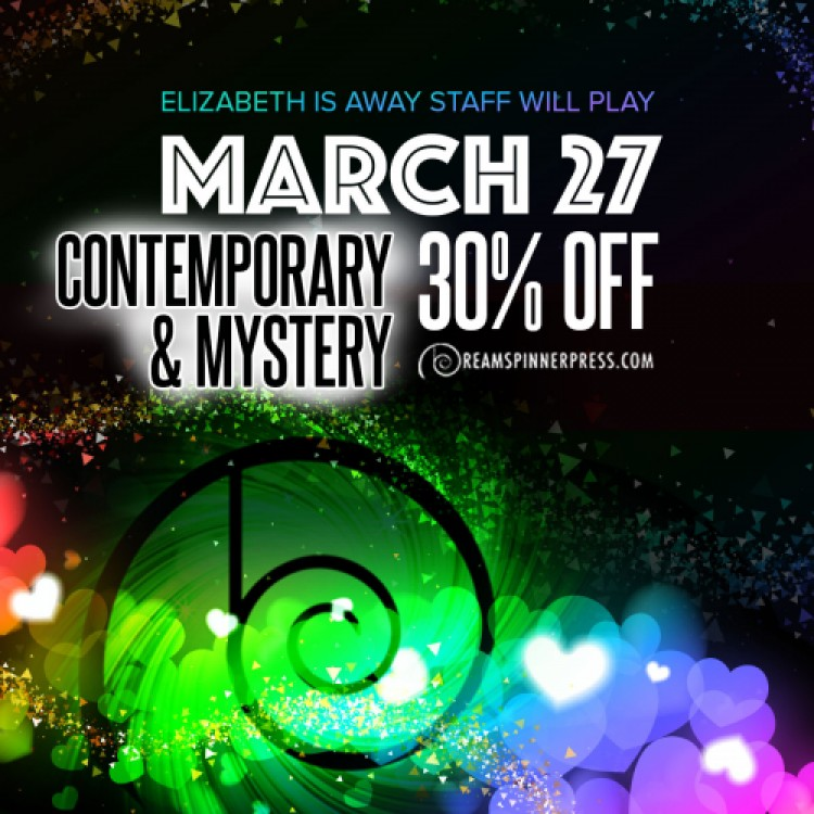 Elizabeth Is Away: Contemporary and Mystery Titles 30% Off