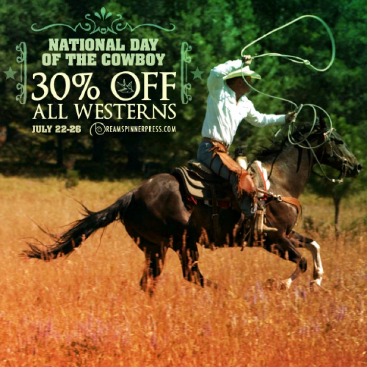 National Day of the Cowboy - 30% off Westerns