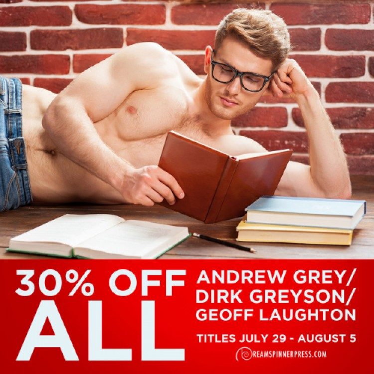 30% off Andrew Grey Titles