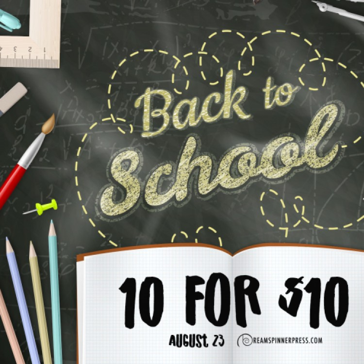 Back to School 10 for $10 Sale