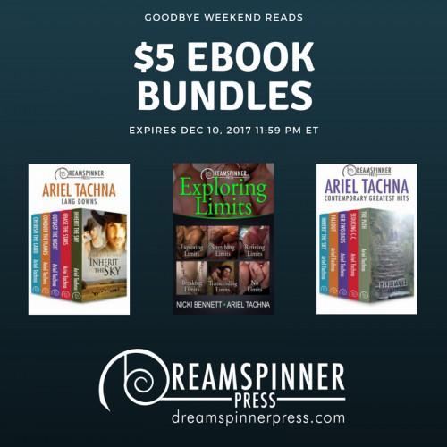 Goodbye Weekend Reads: 3 Bundles for $5 Each