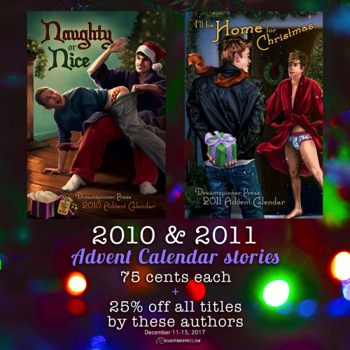 2010 & 2011 Advent Calendar Stories 75 Cents Each and 25% Off All Other Titles By These Authors