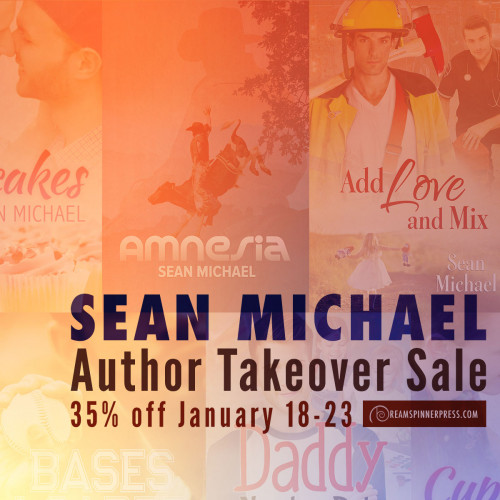 Sean Michael Author Takeover Sale 35% Off