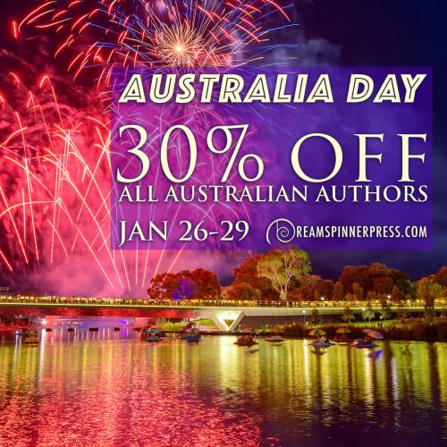 Australia Day - 30% Off all Australian & New Zealand Authors