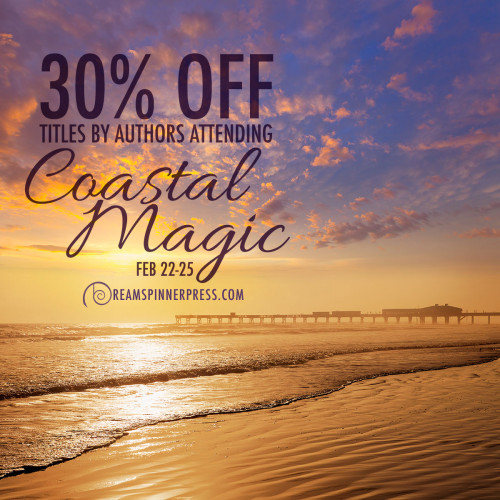 30% Off Titles by Authors Attending Coastal Magic