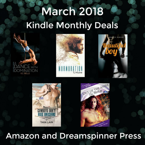 March 2018 Kindle Monthly Deals