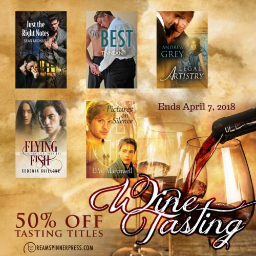 April Wine Tasting 50% Off Featured eBooks
