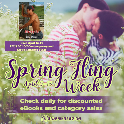 Spring Fling: 30% Off Contemporary and Erotic Romance Titles