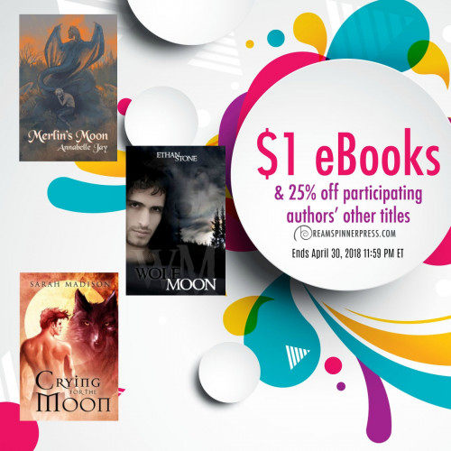 April Moon Magic: $1 eBooks & 25 Off Jay, Madison, Stone Titles