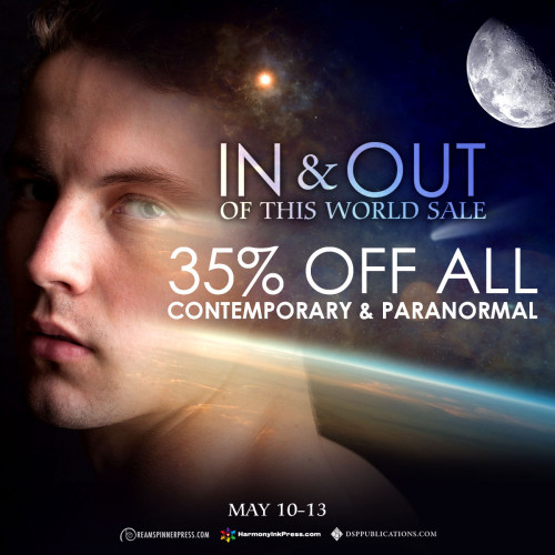 In and Out of This World Sale: 35% Off Contemporary and Paranormal Titles