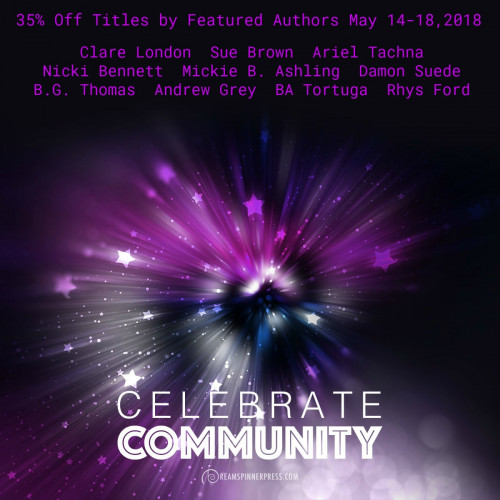 Celebration of Community: 35% Off Titles by Featured Authors May 14-18, 2018
