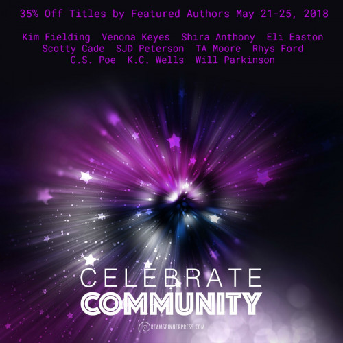 Celebration of Community: 35% Off Titles by Featured Authors May 21-25, 2018
