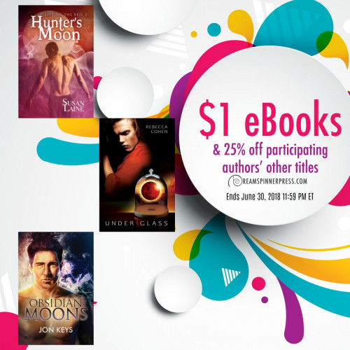 June Moon Magic: $1 eBooks & 25% Off Other Titles by Participating Authors
