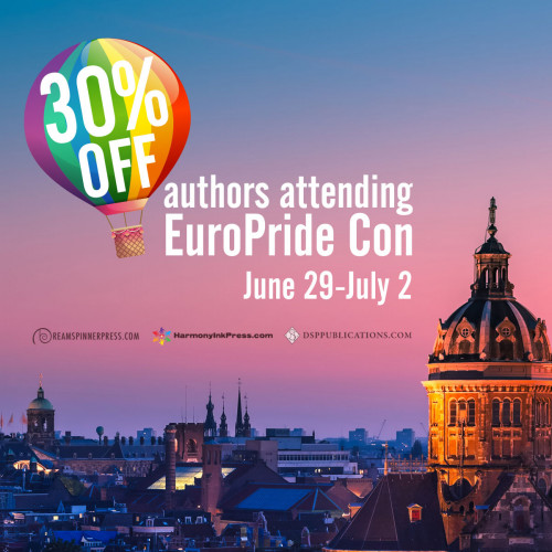 Euro Pride Con 2018: 30% Off Titles by Attending Authors