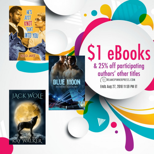 August Moon Magic: $1 eBooks & 25% Off Participating Authors' Other Titles