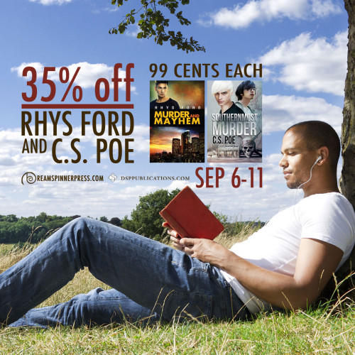 35% Off Rhys Ford and C.S. Poet Titles & Two 99-Cent eBooks