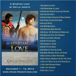 A Spartan Love promo tour and giveaway