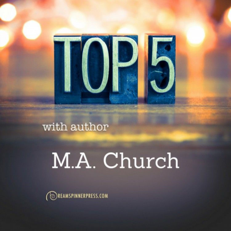 M.A. Church's Top Five Favorite Songs
