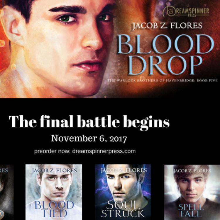 Blood Drop Blog Tour: Stop #1--My Fiction Nook