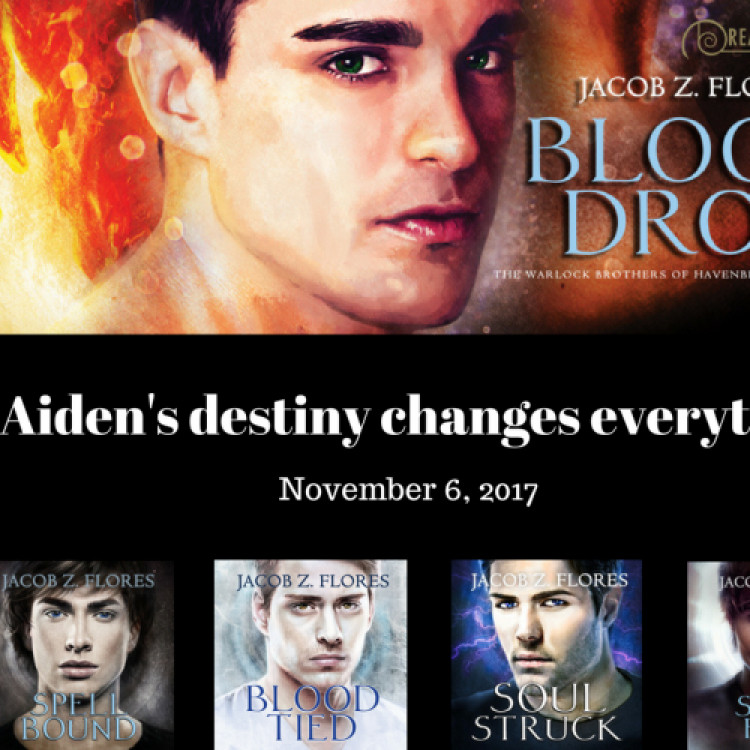 Blood Drop Blog Tour: Stops #2 and 3--Open Skye Reviews and Love Bytes