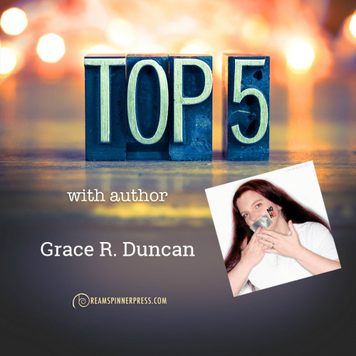 Grace R. Duncan's Top 5 Non-M/M Books