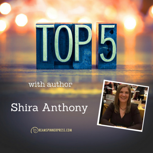 Shira Anthony's Top 5 Favorite Fantasy/Paranormal Series